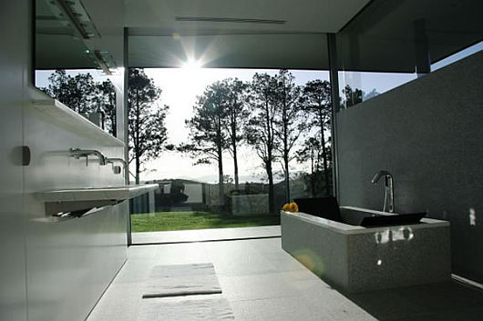 Luxury architecture of rahimoana villa in new zealand by for Bathroom design new zealand