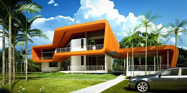 Modular Eco House in Malaysia by Broadway Malyan HOME MODERN