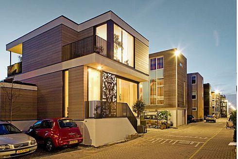Ijburg house in amsterdam home modern