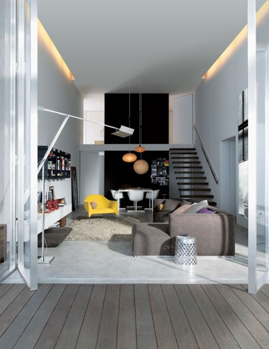Etonnant Beautiful Small House Design From Poliform, Italy. It Combines Interior And  Exterior Design That Looks Very Impressive With Modern Furniture And Styles  With ...