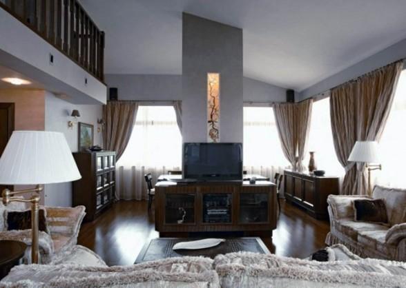 Two Storey Neoclassical Apartment Interior Design HOME