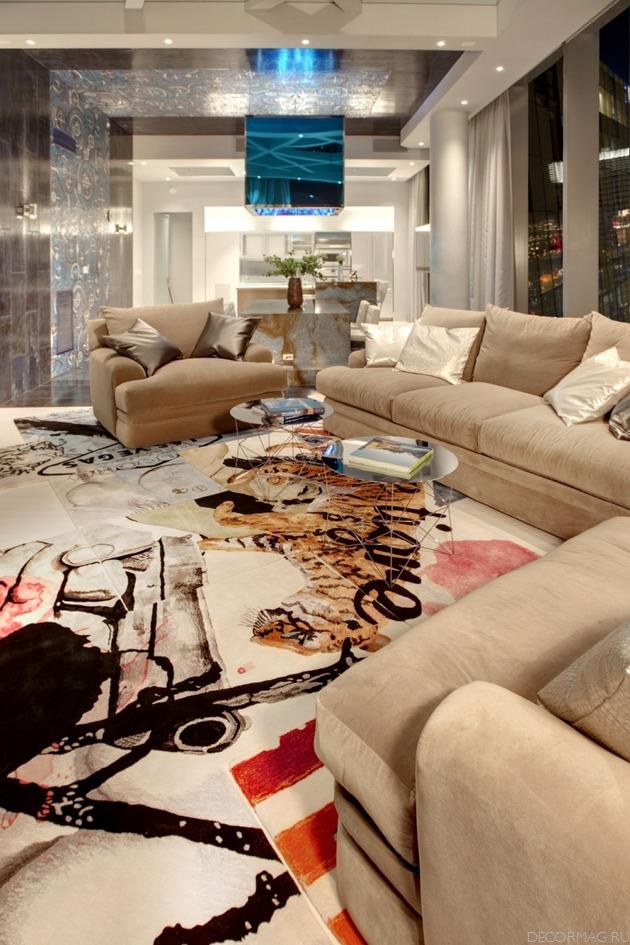 luxury penthouse in las vegas home modern