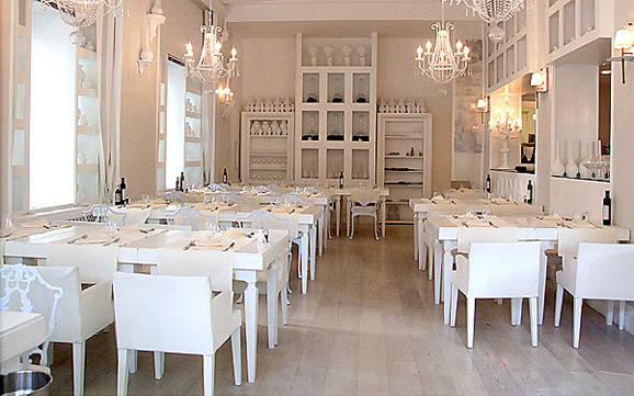Tuna restaurant interior simple design in rome home modern