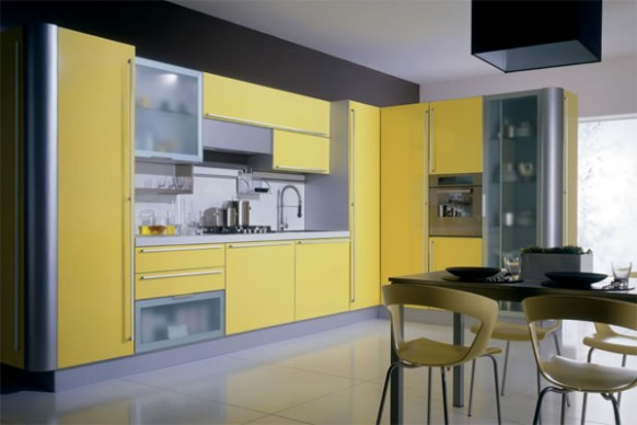 Yellow Kitchens | HOME MODERN