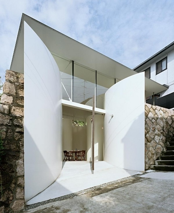 Lucky Japanese Architecture Clover House By Katsuhiro