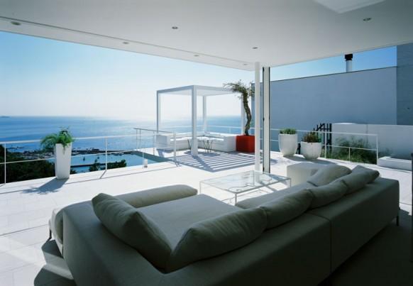 Beautiful House Overlooking The Ocean Home Modern