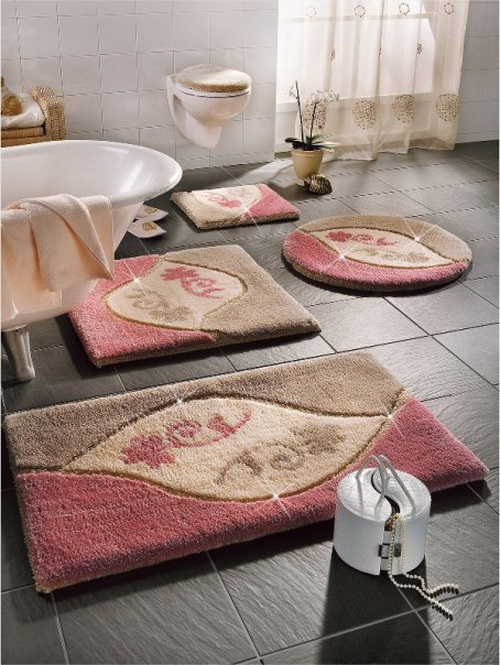 luxury bathroom rugs and mats home modern