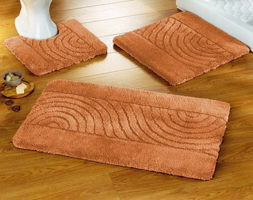 Simple Home Weavers Luxury Bath Rug Sets