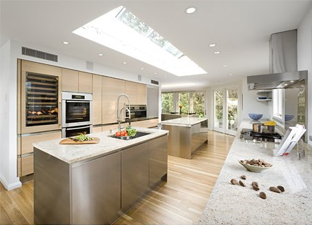 Kitchen Design For Large Space Home Modern