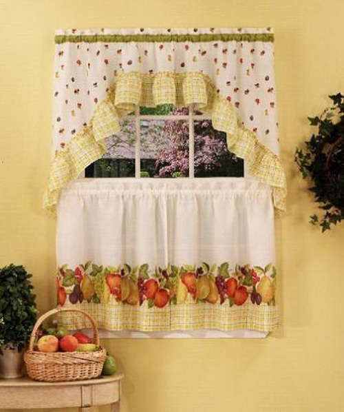 kitchen window curtains ideas 1