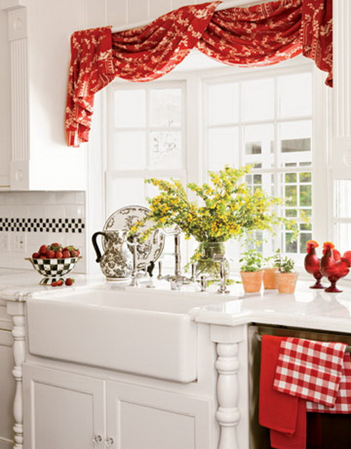 window curtains kitchen curtain design