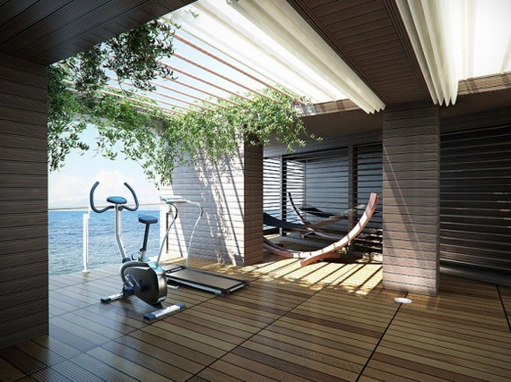 Modern Home Gym Designs Home Modern