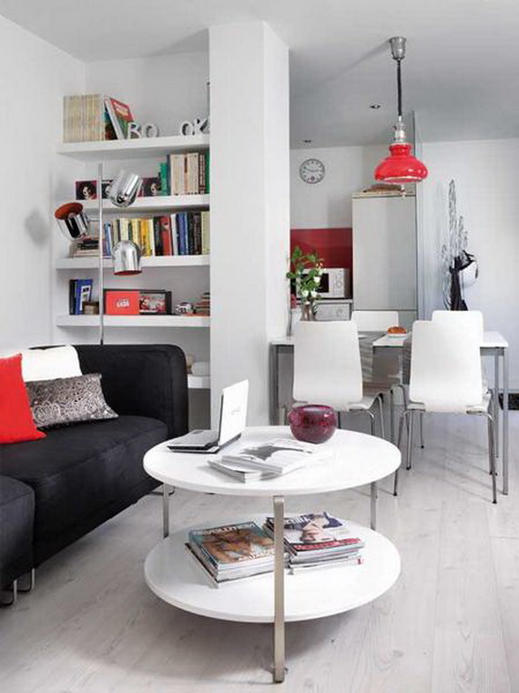 Very small apartment design ideas home modern for Small flat design ideas