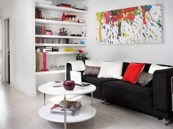 Very small apartment design ideas home modern for Decorating ideas for very small apartments