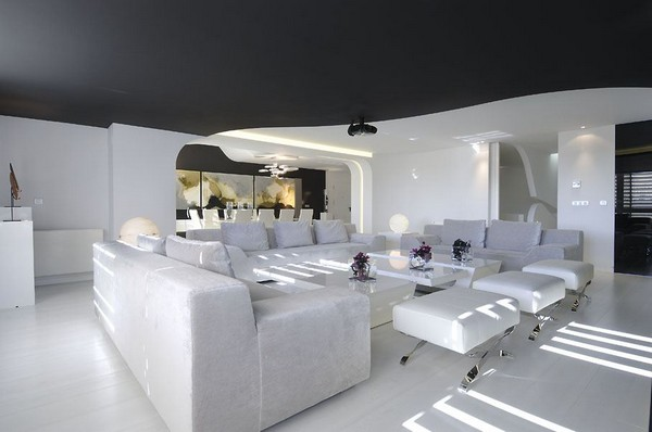 Intriguing Sci Fi Apartment Design By A Cero Home Modern